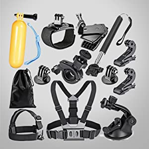accessories kit for GoPro and small camera, accessories kit for small camera, underwater camera kit