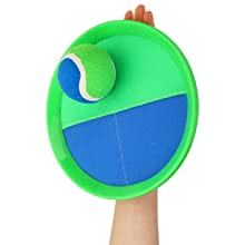 Paddles ball and toss game