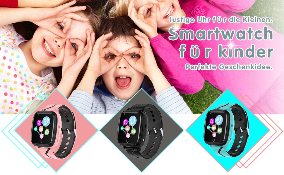 Kinder Smartwatch für Mädchen und Jungen