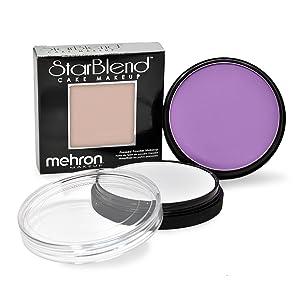 paradise mahron white moonlight body paint mehron makeup face star blend mahron cosplay sfx