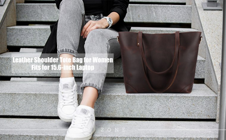 Women Leather Tote Bag