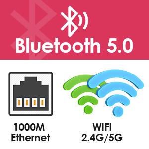Connexion wifi et bluetooth