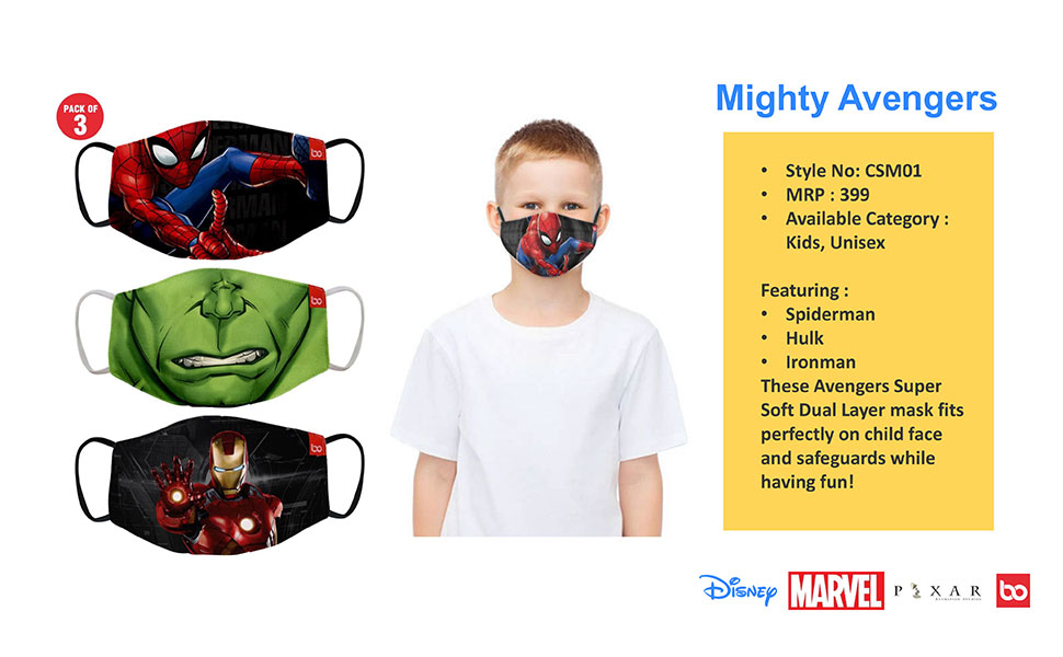 CLOTH KIDS MASKS