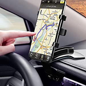 Practical mobile phone navigation stand