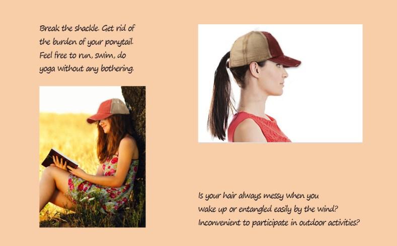 ponytail caps