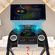 High-quality built-in audio, enjoy music and experience the joy of sports