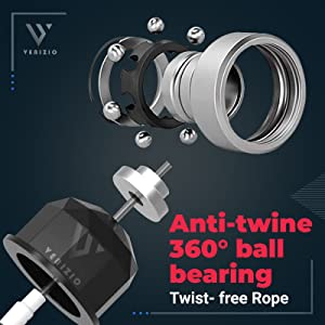 360 anti-twine tangle-free ball bearing