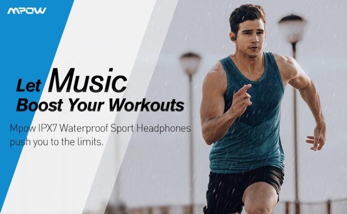 bluetooth headphones wireless headphones bass sport headphones running earbuds sport earbuds running