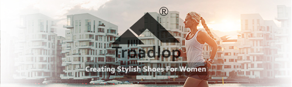 Troadlop women shoes non slip sneakers woman slip on shoes athletic gym workout shoes girl outdoor
