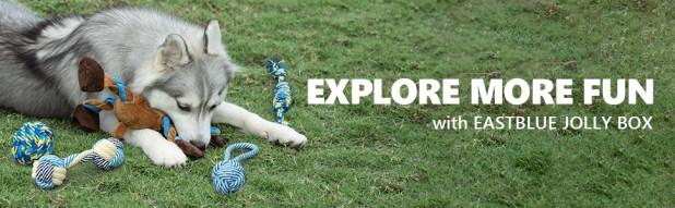 EASTBLUE dog toys