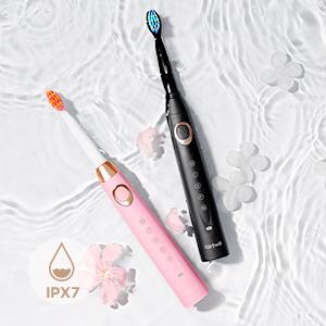 waterproof electrical toothbrush