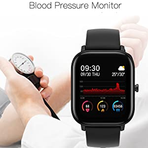 blood pressure monitor watch BP smart watch health exercise sport watch fitness tracker