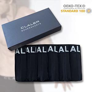 CLALER Boxershorts ,OEKO-TEX Standard 100,Retroshorts ,Männer Unterwäsche Unterhosen ,
