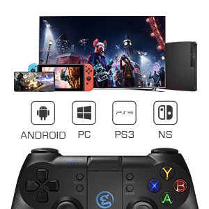 Support Android PC PS3 and Switch