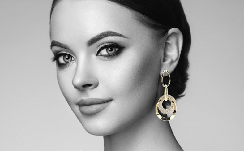 18K Gold Plated Earrings for Women