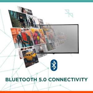 Bluetooth 5.0 Connectivity