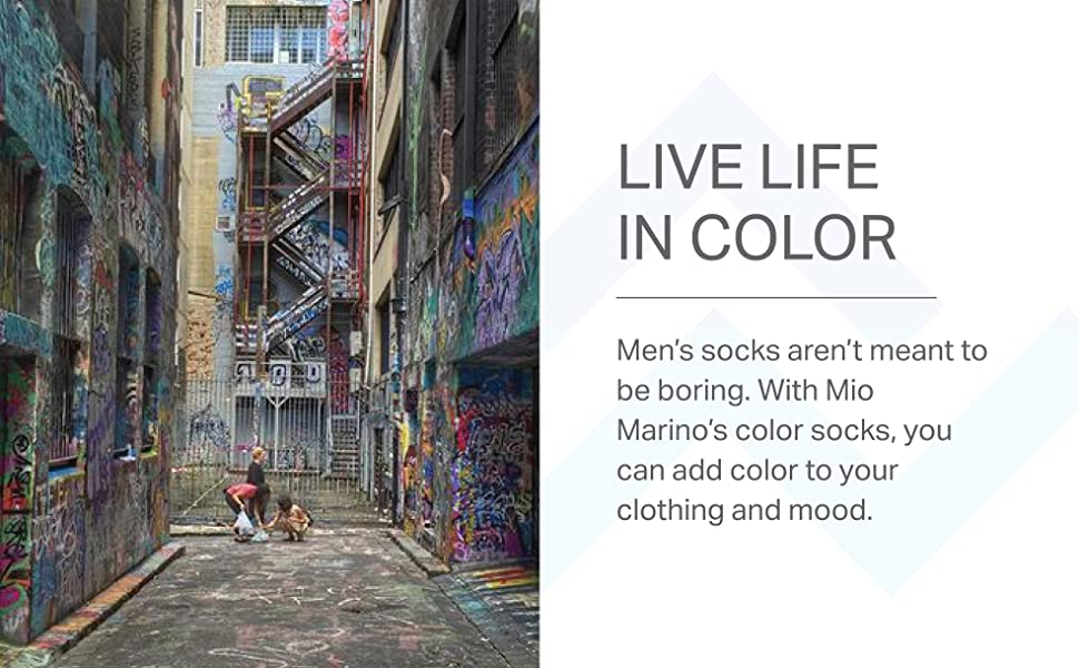 Mio Marino mens dress socks fun colorful