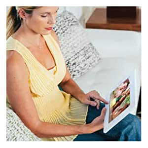 photo album digital frame email wifi picture google battery nix-play inch family white smart cloud