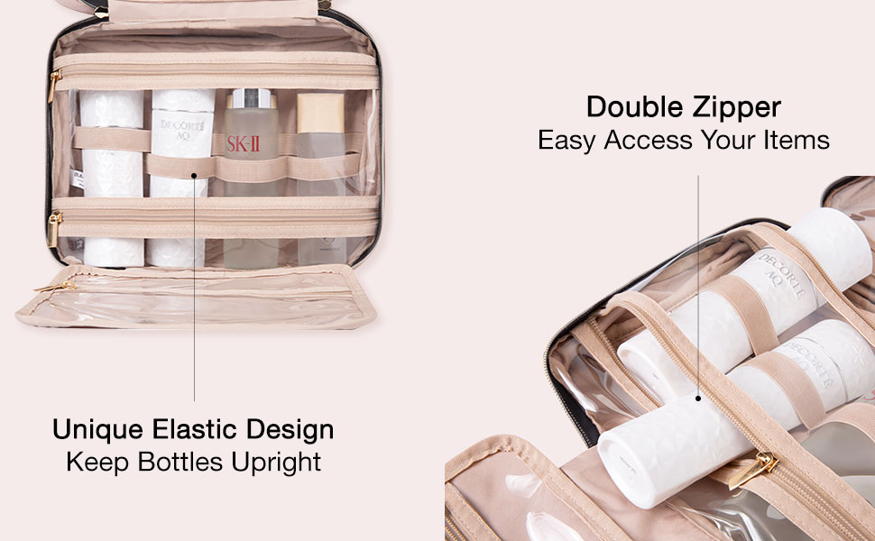 toiletry bag cosmetic bag wash bag women toilet bags Hanging case makeup toiletry accessories