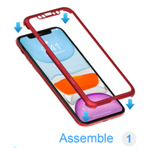 IPhone 11 full body case front case