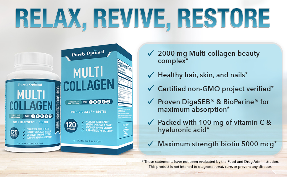 Relax, Revive, Restore