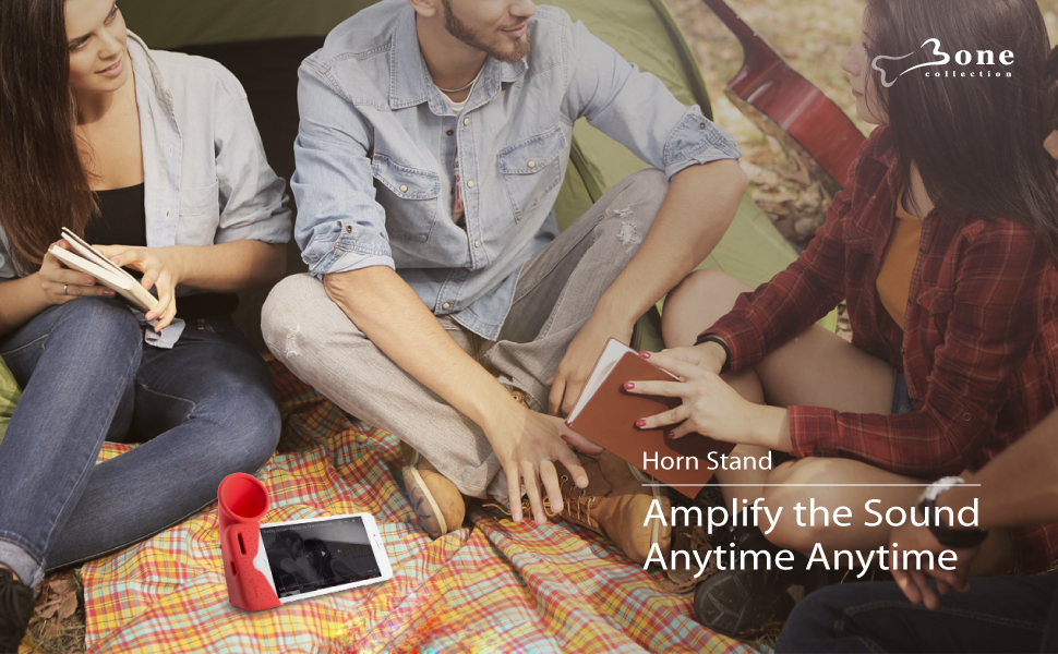 Amplify the sound anytime anywhere