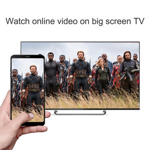 Watch online video on big screen TV