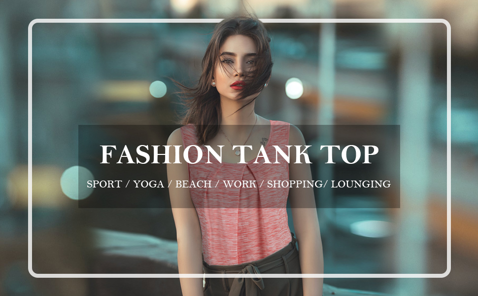 Tunic Tank Tops for Women