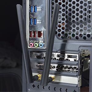 WLAN USB adapter 3000 Mbit / s dual band, WiFi 6 card