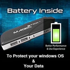 Magicstick Battery inside