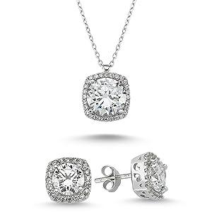 valentines day jewelry set