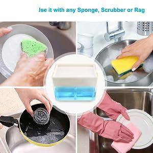 Soap dispenser Dish soap dispenser Kitchen soap dispenser