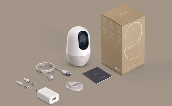 nooie baby monitor camera 360 pet camera