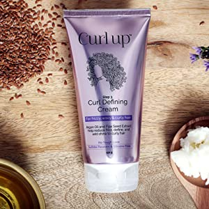 Curl up Curl defining cream for curly & wavy hair