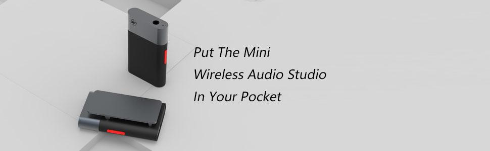 AudioWow Mini kablosuz ses stüdyosunu cebinize koyun