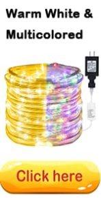 PVC covered string lights