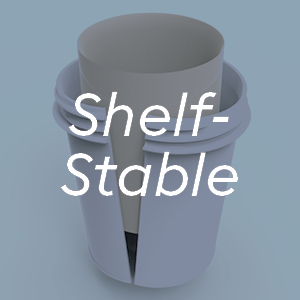 shelf stable desiccant protection from light and oxygen