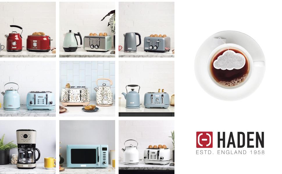 haden heritage appliances, haden heritage retro, vintage appliances, light blue retro kitchen decor