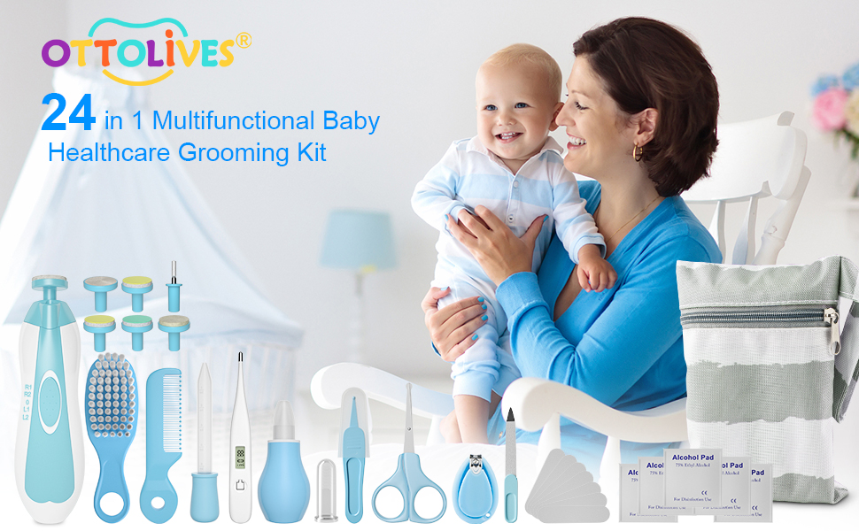 OTTOLIVES baby grooming kit