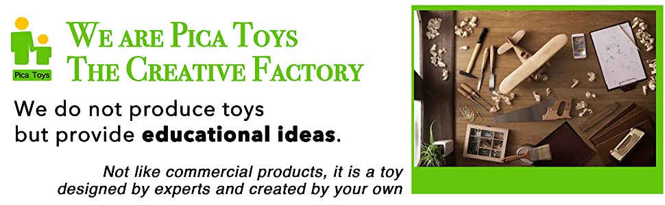pica toys provides educational ideas