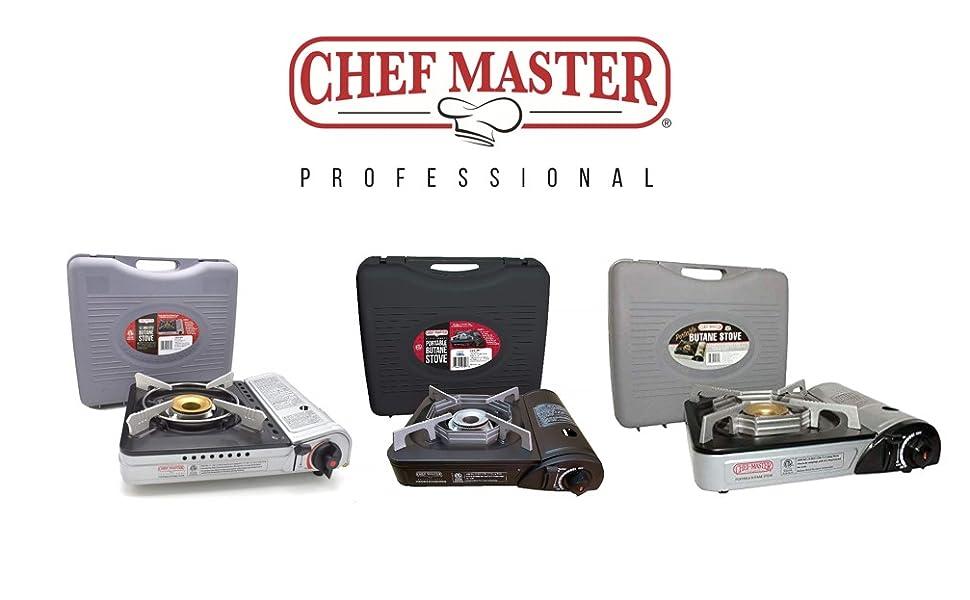 chefmaster butane stove portable camping stove top