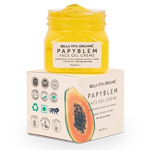 Bella Vita Organic PapyBlem Pigmentation Blemish Gel For Spot Removal, Brightening & Lightening