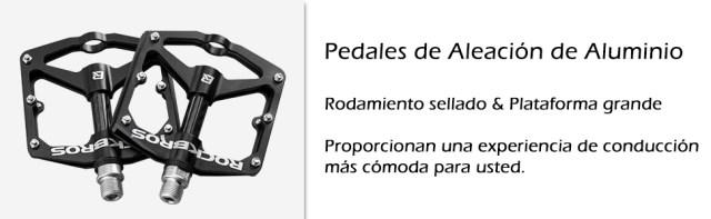 pedales de aleacion de aluminio para bicicletas
