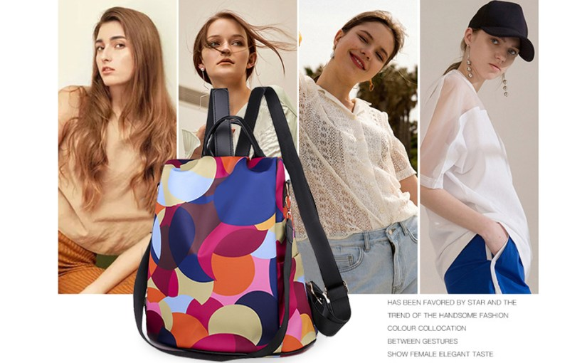 back pack shoulder bag sling crossbody computer work teacher nurse cute book handbags canvas girls