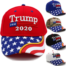 Make America Great Again Our President Donald Trump Slogan with USA Flag Cap Adjustable Baseball Hat