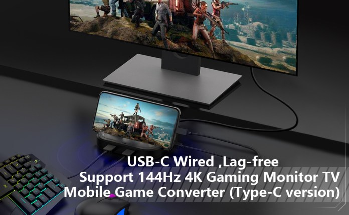 pubg keyboard mouse adapter converter