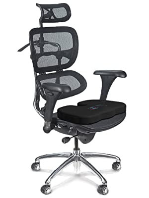 Ergonomic design to reduce pressure and pain from sitting. use in car, office, church, stadium
