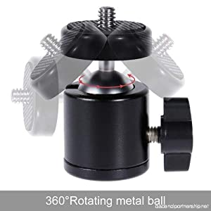 VIDEO RECORDING PHOTO SHOOT TRIPOD CAMERA MOBILE STAND FILM MAKING MOVIE CLIP LEVELING BALL HEAD