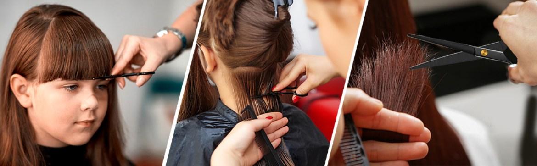 Verschiedene Funktionen der Friseurschere
