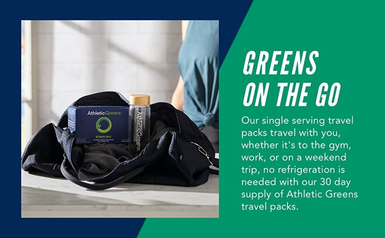 greens on the go supplement